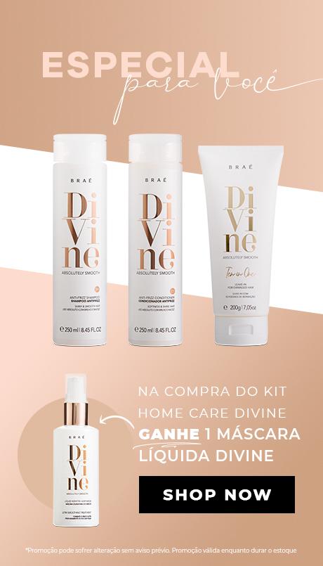 Kit Divine Home Care + mascara liquida
